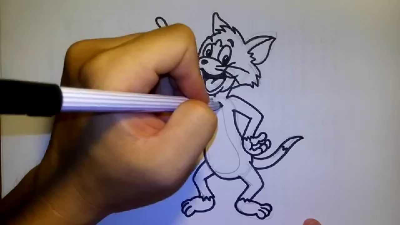 วาดการ ต นก นเถอะ สอนวาดร ป การ ต น ทอม Tom Tom And Jerry สอนวาดร ป การ ต น