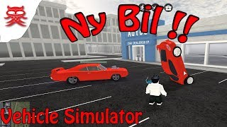 New car-Vehicle Simulator-Danish Roblox