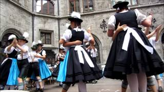 Schuhplattler - Bavarian Folk Dance in Munich