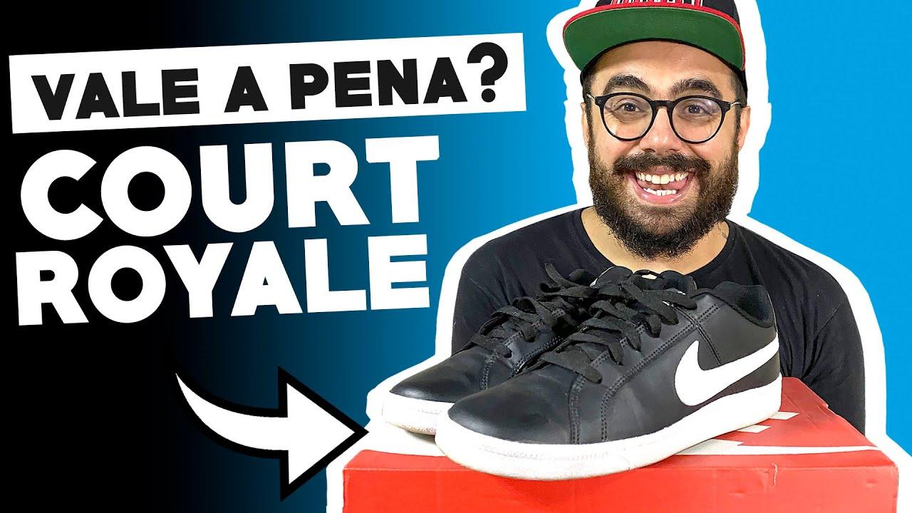 NIKE COURT ROYALE | Tênis da Nike BOM, BONITO E BARATO
