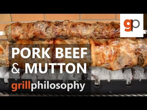 Pork beef and mutton grill recipe (EN subs) | Grill philosophy