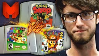 The BEST N64 Games? Super Mario 64 vs Pokemon Snap vs Mario Party 2 - Madness