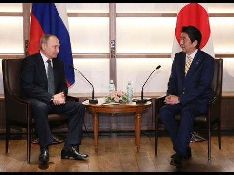 President of Russia visits Yamaguchi