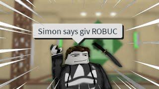 Simon Says OOF #2 (mm2 funny + memes)