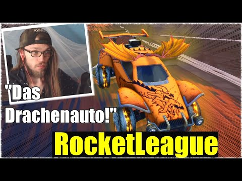 WAS IST DAS BESTE DRACHENAUTO? - Rocket League [Deutsch/German]