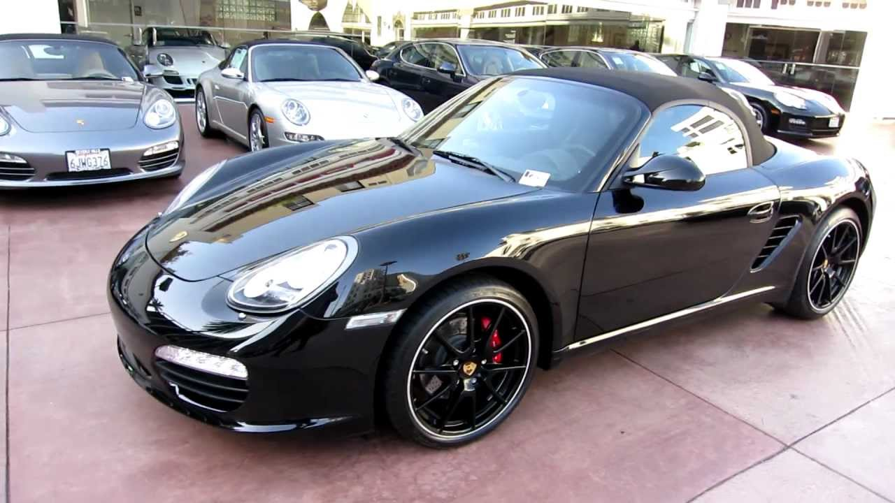 2012 porsche boxster s black edition for sale at beverly hills porsche limited edition youtube. Black Bedroom Furniture Sets. Home Design Ideas