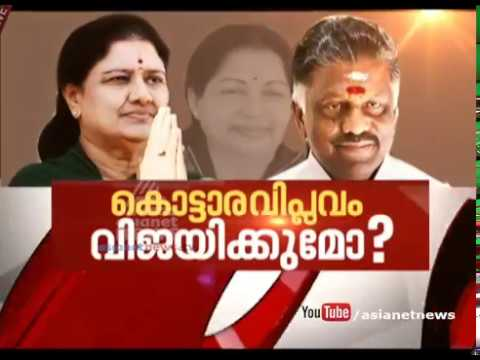 The crisis in Tamil Nadu politics: what next? | Asianet News Hour 8 Feb 2017