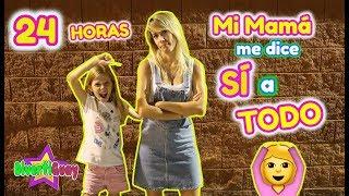 24 HORAS MI MADRE ME DICE SI A TODO!! DANIELA DIVERTIGUAY