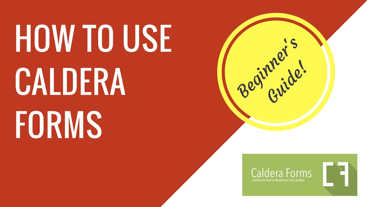 How to make a contact form with Caldera Forms in WordPress ...