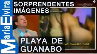 SORPRENDENTES IMÁGENES LLEGADAS DESDE LA PLAYA DE GUANABO.