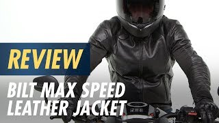 BiLT Max Speed Leather Jacket Review at CycleGear.com