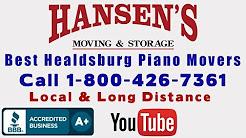 Best Healdsburg Piano Movers Best Cloverdale Piano Movers Geyserville Piano Movers
