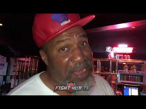 "SHANNON BRIGGS JOKES ON THURMAN WANTING TUNE UPS FOR SPENCE ""NOBODY CAN BEAT SPENCE! HES A DOG!"""