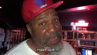 SHANNON BRIGGS JOKES ON THURMAN WANTING TUNE UPS FOR SPENCE