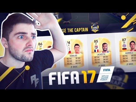 FIFA 17 MEU PRIMEIRO FUT DRAFT C/ RONALDO E HENRY LEGEND