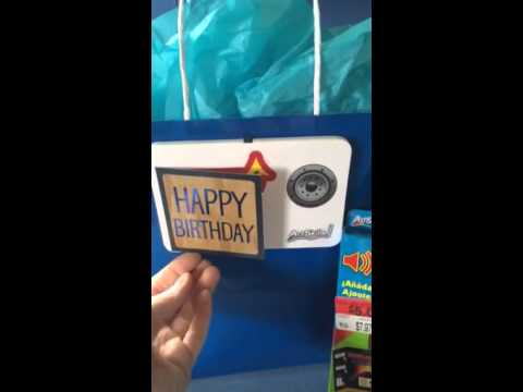 Birthday Card For Visually Impaired Child