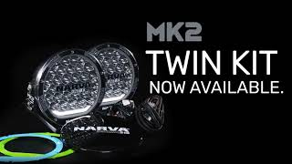 NARVA Ultima MK2 Driving Lights KIT WITH WIRING HARNESS