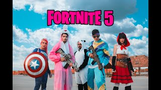 FORTNITE 5 - PERSONAJES EN LA VIDA REAL