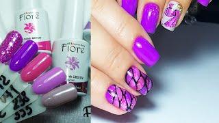 ❤ НОВИНКИ от FIORE ❤ ПРОСТОЙ дизайн ❤ ЧЕШУЯ рыбы ❤ Дизайн ногтей гель лаком ❤
