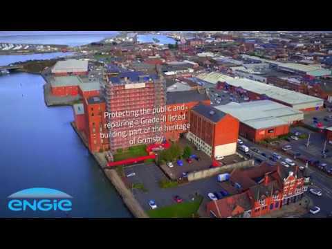 North East Lincolnshire drone video