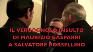 Il vergognoso insulto di Gasparri a Salvatore Borsellino - The shameful insult of Gasparri