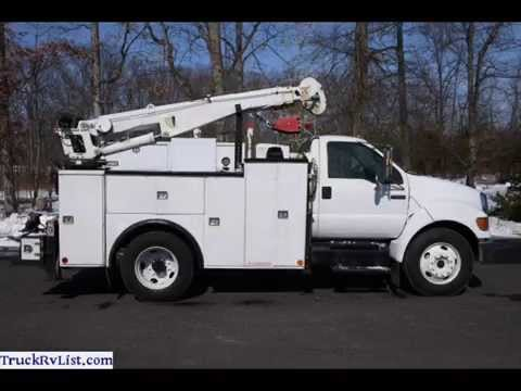 88557becde Used Utility Trucks For Sale - YouTube