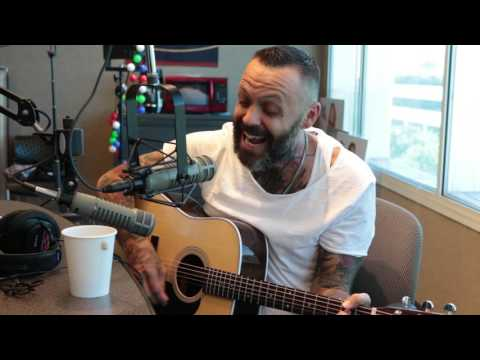 Justin Furstenfeld of Blue October Performs In Studio