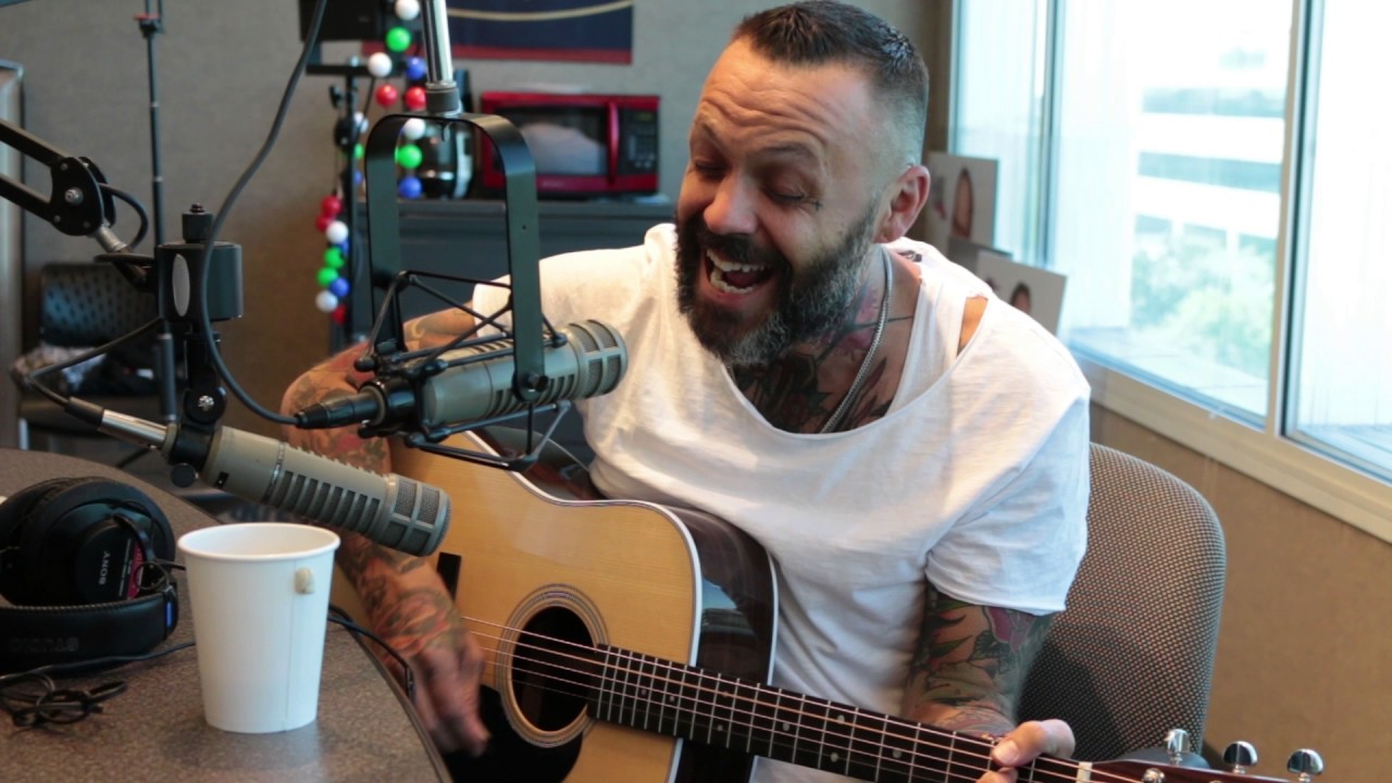 Justin Furstenfeld Of Blue October Performs In Studio Youtube