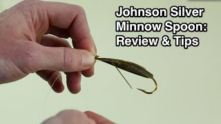 Gambar cover Johnson Silver Minnow Weedless Spoon - Rigging Tips