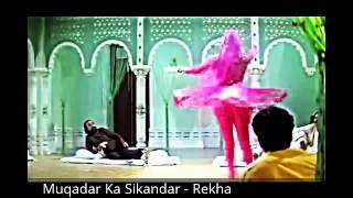 Muqadar Ka Sikandar Rekha Mujra