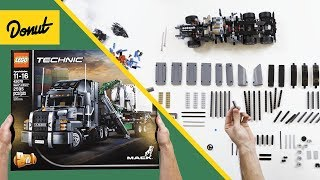 LEGO Technic Semi-Truck Build | Built To Scale thumbnail