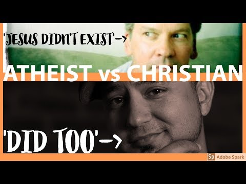 ATHEIST 'Jesus Didn't Exist' v CHRISTIAN 'Wrong! Here's Why' [AUDIO] Vocab Malone & Fitzgerald