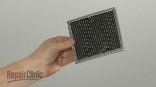 This video provides step-by-step instructions for replacing the charcoal filter on Whirlpool microwaves. The most common reason for replacing the charcoal filter ...