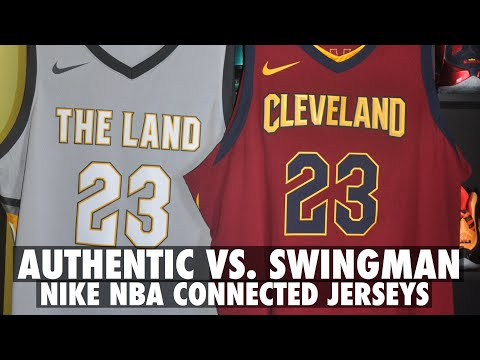 Authentic vs. Swingman Nike NBA Jersey Comparison and Review
