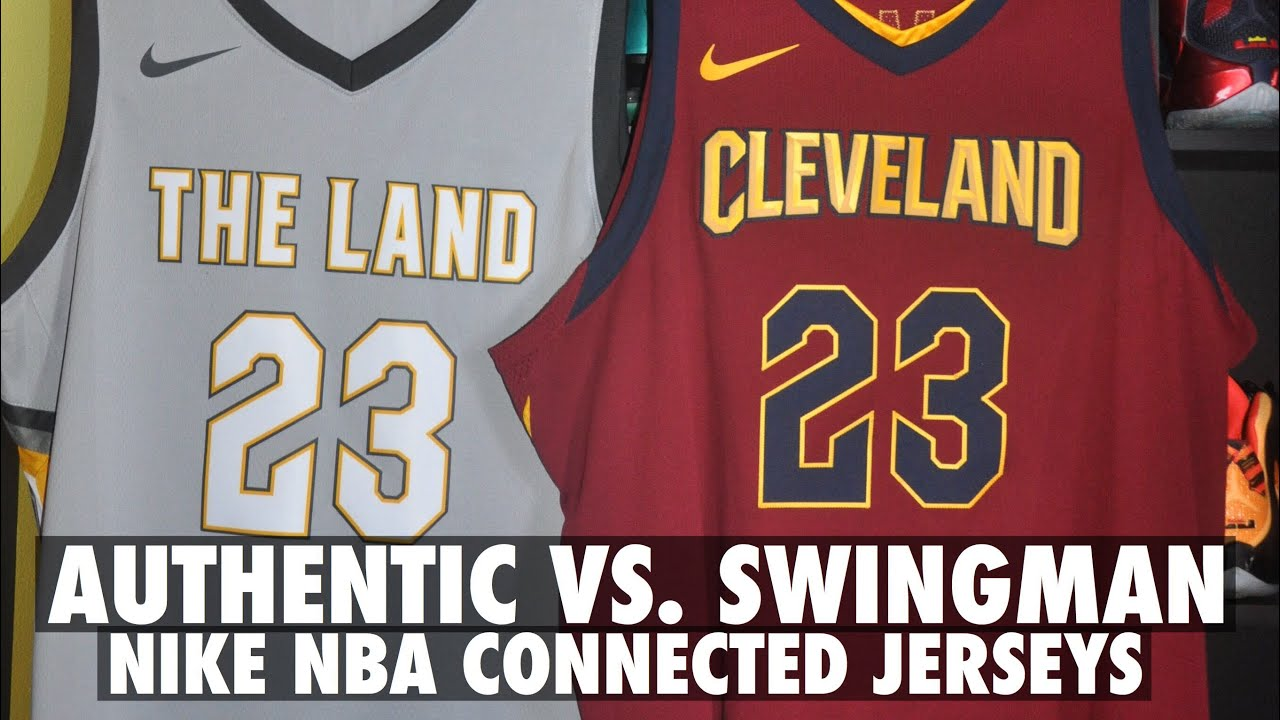 Authentic vs. Swingman Nike NBA Jersey Comparison and Review - YouTube 99b8974de