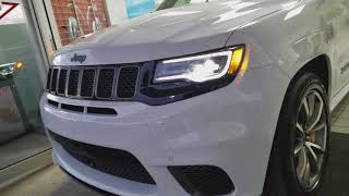 2018 JEEP GRAND CHEROKEE TRACKHAWK DELIVERY