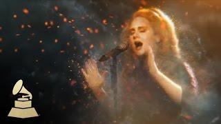 Adele #WeAreMusic - 54th GRAMMY Awards   GRAMMYs