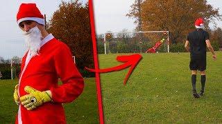 NOEL/CHRISTMAS FOOTBALL CHALLENGES ! (Oui c'est bien moi sur la miniature déguisé en père noël)