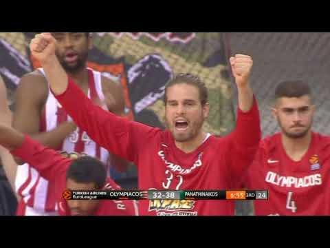 Janis Strelnieks 18 points versus Panathinaikos