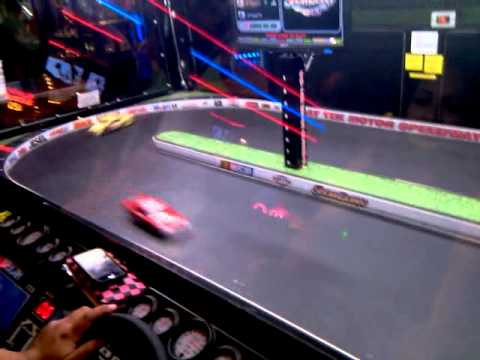 Nascar Game At Dave And Buster S Youtube