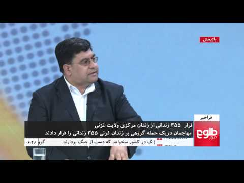 FARAKHABAR: Taliban Enable 355 Inmates To Escape From Ghazni Prison