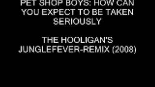 Pet Shop Boys - How can you expect to be taken seriously (THG junglefever-remix)