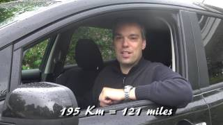 How far can you go in a Nissan Leaf 24 kWh?
