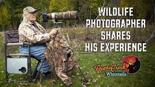 WILDLIFE PHOTOGRAPHER SHARES HIS EXPERIENCE AT APPLE CREEK WHITETAILS