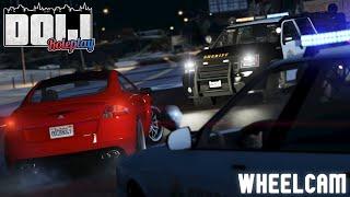 GTA 5 PS4 Roleplay - DOIJ 12 - (LEO) Live on Patrol | WHEELCAM