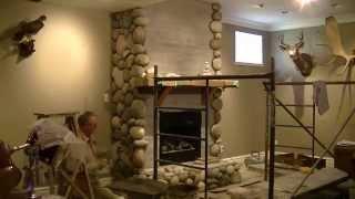 Streamstone Fireplace Time Laps