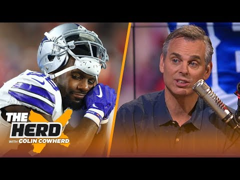 Colin thinks Dez Bryant is NFL's most 'self-deluded player' over the last decade | NFL | THE HERD
