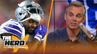 Colin thinks Dez Bryant is NFL's most 'self-deluded player' over the last decade   NFL   THE HERD