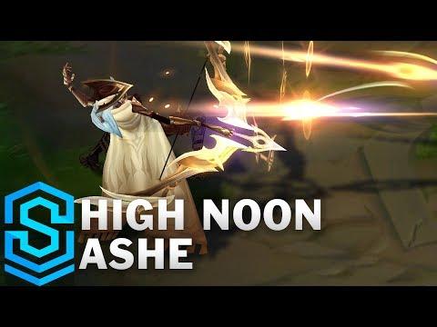 High Noon Ashe Skin Spotlight - Pre-Release - League of Legends