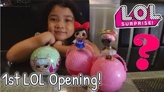 1st L.O.L. OPENING! SURPRISE Dolls Series 2 Wave 1